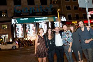 Estreno Julie en el Cine Capitol de Madrid